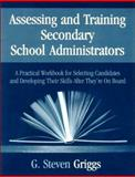 Assessing and Training Secondary School Administrators 9780803968943
