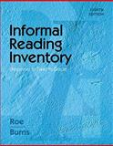 Informal Reading Inventory : Preprimer to Twelfth Grade, Roe, Betty and Burns, Paul C., 0495808946