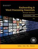 Keyboarding and Word Processing Essentials, Lessons 1-55, Woo, Donna L. and Vanhuss, Susie H., 1133588948