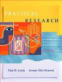 Practical Research : Planning and Design, Leedy, Paul D. and Ormrod, Jeanne E., 0131108956