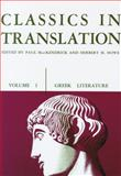 Classics in Translation, , 0299808955