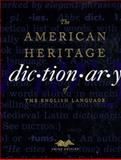 The American Heritage Dictionary of the English Language, American Heritage Publishing Staff, 0395448956