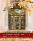 Foundations of Education, Ornstein, Allan C. and Levine, Daniel U., 0495808954