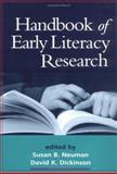 Handbook of Early Literacy Research, Volume 1 9781572308954