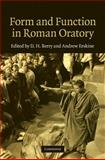 Form and Function in Roman Oratory, , 0521768950