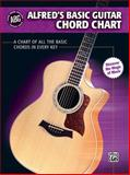 Alfred's Basic Guitar Chord Chart, Alfred Publishing Staff, 0739048953