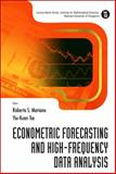 Econometric Forecasting and High-Frequency Data Analysis, Tse, Yiu-Kuen, 9812778950