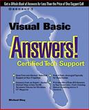 Visual Basic Answers! : Certified Tech Support, Otey, Michael, 0072118954
