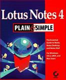 Lotus Notes 4 Plain and Simple, Rupert Clayton, 078211895X