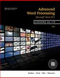 Advanced Word Processing, Microsoft® Word 2013, Lessons 56-110, VanHuss, Susie H. and Forde, Connie M., 1133588964