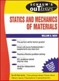 Schaum's Outline of Statics and Mechanics of Materials, Nash, William, 0070458960