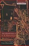 The Collected Essays of A. K. Ramanujan, A. K. Ramanujan, 0195668960