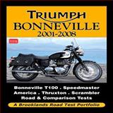 Triumph Bonneville, 2001-2008, R. M. Clarke, 1855208962