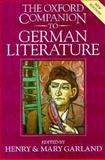 The Oxford Companion to German Literature, Garland, Henry and Garland, Mary, 0198158963
