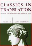 Classics in Translation Vol. 2 : Latin Literature, , 0299808963
