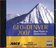 Geo-Denver 2007 : New Peaks in Geotechnics, , 0784408971