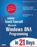 Sams Teach Yourself Windows DNA 2000 Programming in 21 Days, Michael Rockwell and Jonathan Moons, 0672318970
