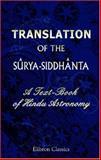 Translation of the Sbrya-Siddhbnta, , 1402178972