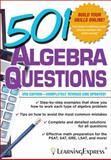 501 Algebra Questions, LearningExpress, LLC, 1576858987