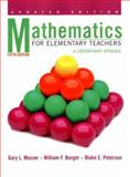 Mathematics for Elementary Teachers : A Contemporary Approach, Musser, Gary L. and Burger, William F., 047138898X