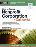 How to Form a Nonprofit Corporation in California, Attorney, Anthony Mancuso, 1413318983