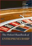 The Oxford Handbook of Entrepreneurship, , 0199288984