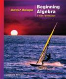 Beginning Algebra, McKeague, Charles P., 0495108987
