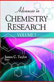 Advances in Chemistry Research, Taylor, James C., 1617618985