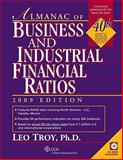 Almanac of Business and Industrial Ratios 2009, Troy, Leo, 0808018981