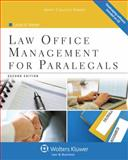 Law Office Management for Paralegals, Vietzen, Laurel A., 1454808993