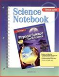 Science Notebook: Physical Science with Earth Science, Glencoe McGraw-Hill, 0078748992
