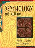 Psychology and Culture, Lonner, Walter J. and Malpass, Roy S., 0205148999