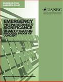 Emergency Preparedness Significance Quantification Process: Proof of Concept, U. S. Nuclear Commission, 1499649002
