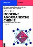 Riedel Moderne Anorganische Chemie, Janiak, Christoph, 3110249006