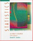 Statistics : A First Course, Sanders, Donald H., 0070549001