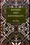 Reason and Rationality, Elster, Jon, 0691139008