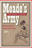 Meade's Army, David Lowe, 0873389018