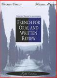 French for Oral and Written Review, Carlut, Charles and Meiden, Walter, 0030759013