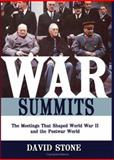 War Summits, David Stone, 157488901X