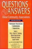 Questions and Answers about Community Associations, Jan Hickenbottom, 1880039028