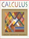 Calculus, Alternate, Larson, Ron and Hostetler, Robert P., 0395889022