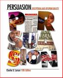 Persuasion : Reception and Responsibility (with InfoTrac), Larson, Charles U., 0534619029