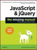 JavaScript and JQuery, McFarland, David Sawyer, 1449399029
