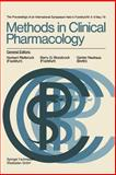 Methods in Clinical Pharmacology, Norbert Rietbrock, Barry G. Woodcock, Günter Neuhaus, 3528079029