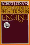 Easy Reading Selections in English, Dixson, Robert James, 0132229021
