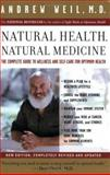Natural Health, Natural Medicine, Andrew Weil, 0618479031