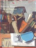 American Masters from Bingham to Eakins : The John Wilmerding Collection, Abbie N. Sprague, Franklin Kelley, 0853319030
