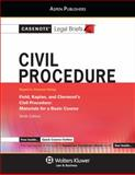 Civil Procedure : Field Kaplan and Clermont 10e, Casenotes, 0735599033