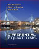 Differential Equations, Blanchard, Paul and Devaney, Robert L., 1133109039