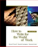 How to Write for the World of Work 9780155079038